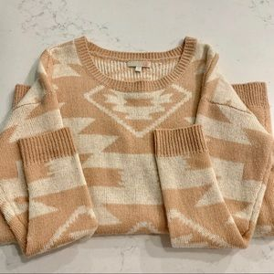 GIANNI BINI • NWOT Aztec Sweater
